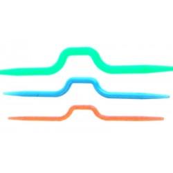 Druty do warkoczy plastikowe ZESTAW