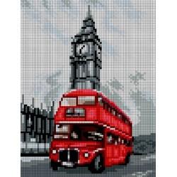 Kanwa 18x24 LONDYN haft krzyżykowy