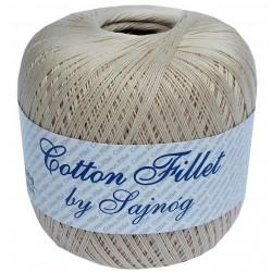 Kordonek Cotton Fillet 0002 BEŻ