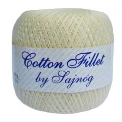 Kordonek Cotton Fillet 0004 ECRU