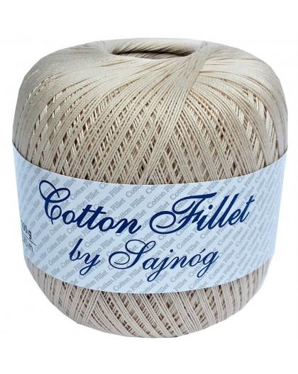 Kordonek Cotton Fillet 0005 CIEMNY BEŻ