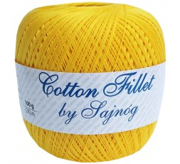 Kordonek Cotton Fillet 0020 ŻÓŁTY