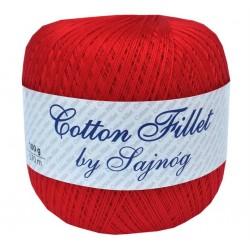 Kordonek Cotton Fillet 0030 CZERWONY