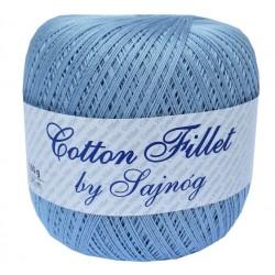 Kordonek Cotton Fillet 0051 JASNY NIEBIESKI