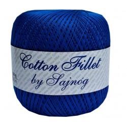 Kordonek Cotton Fillet 0053 CIEMNY NIEBIESKI