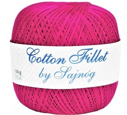 Kordonek Cotton Fillet 0105 FUKSJA