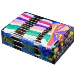 Mulina MIX kolorów 50 sztuk