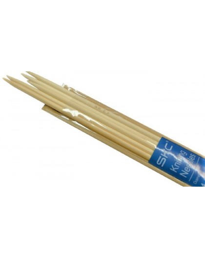 Druty bambusowe do skarpet 3 mm