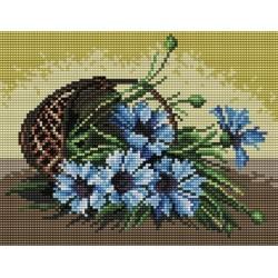 Kanwa 18x24 CHABRY haft krzyżykowy