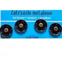 Zatrzaski metalowe 8  21mm STARY MOSIĄDZ