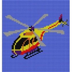 Kanwa 15x15 HELIKOPTER haft krzyżykowy