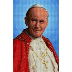 Kanwa 32x46 Błogosławiony Jan Paweł II