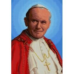 ZESTAW kanwa 32x46 Błogosławiony Jan Paweł II